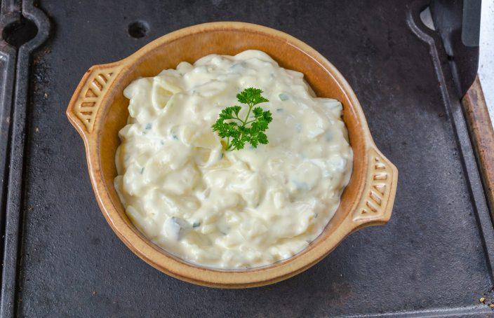 Kartoffelsalat Mayo Brühe Oder ölessig